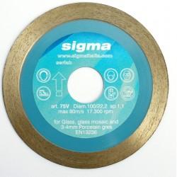 Diamantový kotúč 75V – ø100